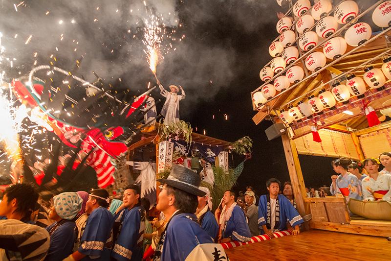 祇園祭(大蛇山)